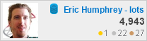 profile for Eric Humphrey - lotsahelp at Database Administrators