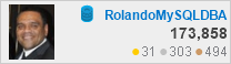 profile for RolandoMySQLDBA at Database Administrators